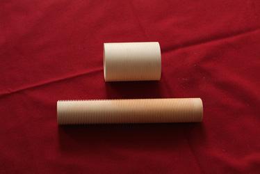 氧化铝罗纹管 氧化铝罗纹管 氧化铝罗纹管