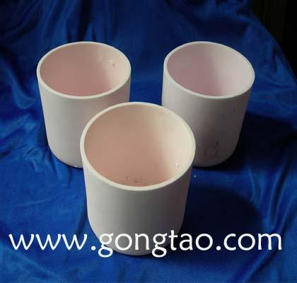 圆柱形氧化铝坩埚,圆柱形氧化铝坩埚,圆柱形氧化铝坩埚,圆柱形刚玉坩埚