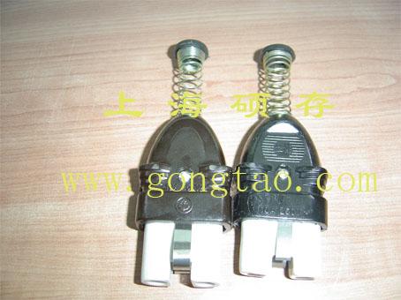 电加热器插座插头 加热圈插座(图)